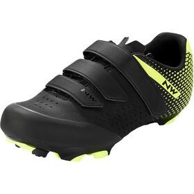Northwave Origin 2 Shoes Men, czarny/żółty